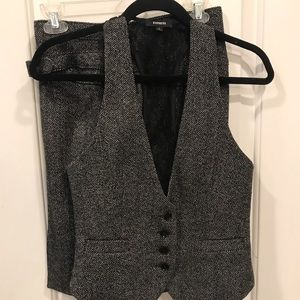 Express Vest and Skirt Formal Ware